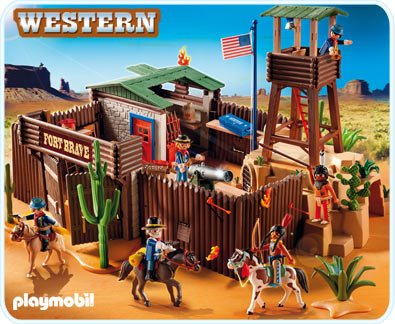 Playmobil Western Fort front-976571