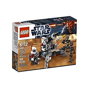 Includes 4 Minifigures: Arc Trooper, Arf Trooper And 2 Commando Droids - LEGO Star Wars Elite Clone Trooper and Commando Droid B 9488