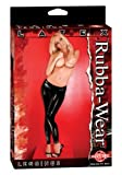 Rubba Wear Latex Leggings, Black, One Size
