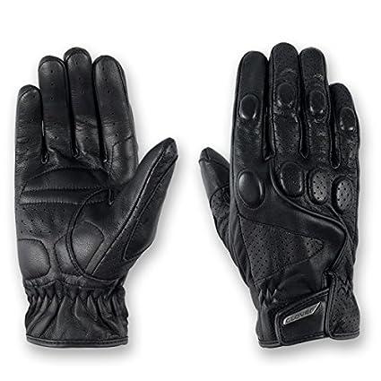 Clover 99111004_ 05Tazio été Moto Gants en cuir, Noir, Taille XL/11