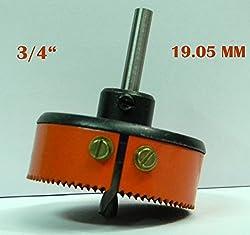 HSS METAL CUTTING HOLE SAW CUTTER (3/4) 19.05 MM - SHARP