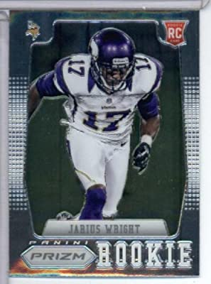 2012 Panini Prizm # 215 Jarius Wright RC - Minnesota Vikings (RC - Rookie Card) NFL Football Trading Card