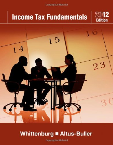 Income Tax Fundamentals 2012 (with H&R BLOCK At...
