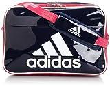 [アディダス] adidas エナメル ショルダーL Z7679 F92313 (カレッジネイビー/ビビッドベリー S14/ホワイト)
