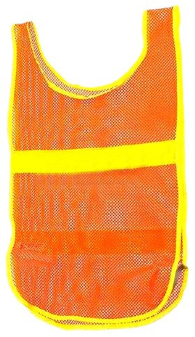 Aardvark Aardvark Reflective Vest, Orange
