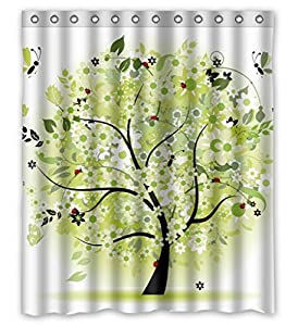 Polyester Shower Curtain Love Size Width X Height 66 X 72 Inches W H 168 By 180 Cm Home Fashion Durable
