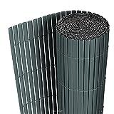 [neu.haus] PVC Sichtschutzmatte (90x300cm) (grau)...