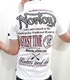 (ノートン)Norton 2枚衿 半袖 ポロシャツ L オフホワイト