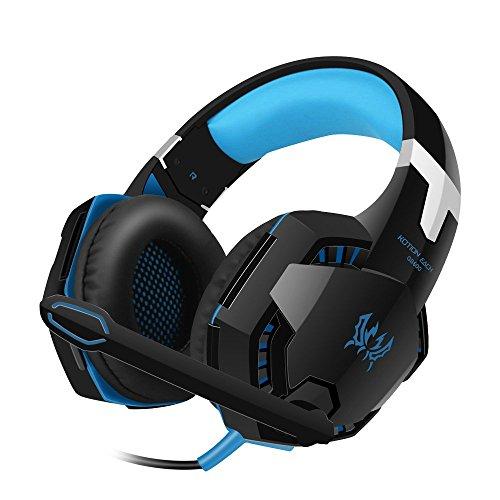 Bengoo ゲーミングヘッドセット改良版ゲーミングヘッドホン XBOX 360 PS3 PS4 PCに対応 全効能ヘッドセット 密閉型 ゲーム用ヘッドセット重低音 高音質 マイク付き ステレオゲーミングヘッドセット 騒音隔離 音量調整機能付き