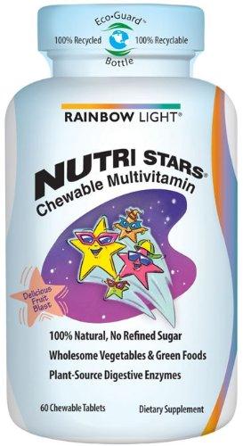 RAINBOW LIGHT - NUTRI STARS MULTIVITAMINS - 60