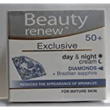 Beauty Renew 50+ Exclusive Day & Night Cream Diamonds For Mature Skin