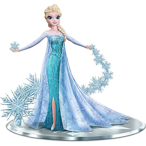 Elsa the Snow Queen with Swarovski Crystals: Let It Go Figurine