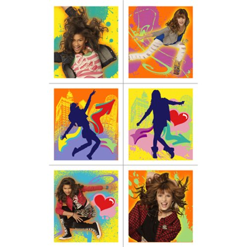 Disney Shake It Up Sticker Sheets Party Accessory