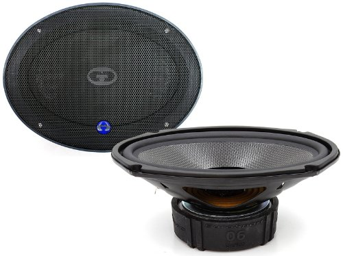 "Es-0690 Gold - Cdt Audio 6""X9"" Way Extended Mid-Bass Speakers / Subwoofers Es0690"
