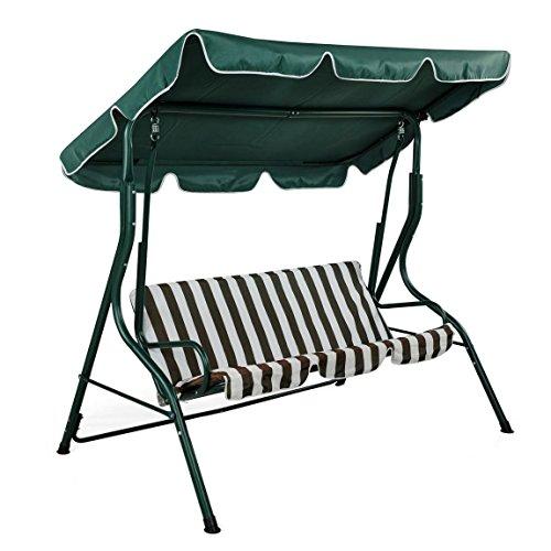 Amazing Best Price Oypla Luxury Garden Swing Bench Chair Hammock Camellatalisay Diy Chair Ideas Camellatalisaycom