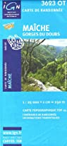 Ma�che / Gorges du Doubs 3623 OT par Institut g�ographique national
