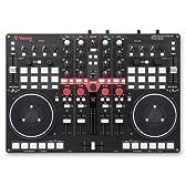 Vestax DJコントローラー VCI-400 Serato DJ/Traktor/Virtual DJ対応 ミキサー内蔵 4チャンネル