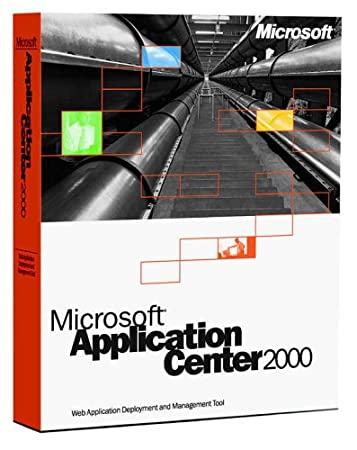 Microsoft Application Center 2000 CD (1 Processor License) [Old Version]