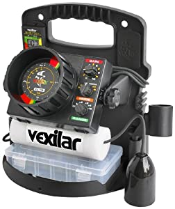 Vexilar FL-18 Pro Pack II with Ice-Ducer Fish Finder by Vexilar