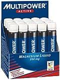 Multipower Los suplementos de magnesio líquido 20 ampollas
