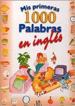 Mis Primeras 1000 Palabras En Ingles: Amazon.es: Ferrandiz