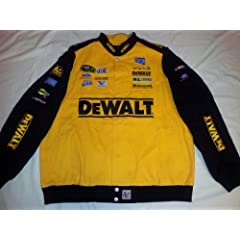 New! XXL (2XL) Chase Authentics Yellow DeWalt #17 Matt Kenseth Heavyweight Racking... by NASCAR