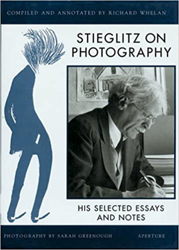 Stieglitz on Photography cover