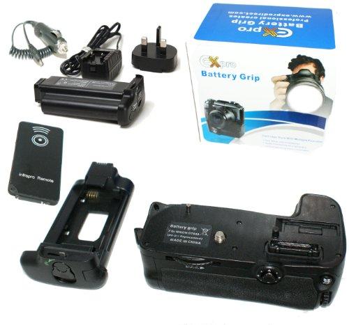 Ex-Pro® Power Grip Nikon MB-D11 VALUE KIT (EN-EL15/EN-EL15a) Series for Nikon D7000, with Infrared remote & EN-EL15a Battery Grip Lithium Battery