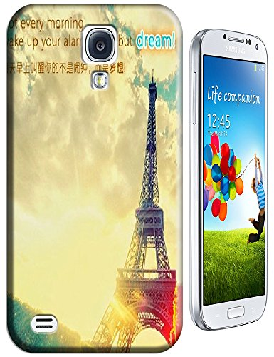 Beautiful Eiffel Tower Paris Fashion Cell Phone Cases Design For Samsung Galaxy S4 I9500 No.8 front-154830