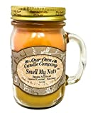 Our Own Candle Company Smell My Nuts Scented Mason Jar...