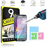 Case Collection UK Samsung Galaxy S4 Mini Tempered Glass Screen Protector Guard Cover Ultra Thin Lightweight Rounded...