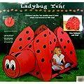 Indoor/ Outdoor Childrens Ladybug Play Tent