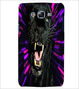 PrintDhaba Jaguar D-4378 Back Case Cover for SAMSUNG GALAXY ON 7 (Multi-Coloured)