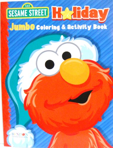Sesame Street Jumbo Holiday Coloring & Activity Book (Assorted, Art Cover Varies)