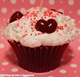 LOVE & RED VELVET- Jumbo Cupcake Candle LIMITED EDITION