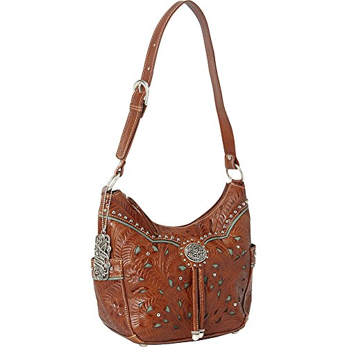 american-west-lady-lace-zip-top-everyday-shoulder-bagmocha-tan-turquoiseone-size
