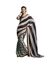 IndiWeaves Women Designer Party Wear Saree - B00PIIVKHQ
