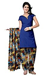 Riddhi Dresses Women's Cotton Unstitched Dress Material (Riddhi Dresses 92_Multi Coloured_Free Size)