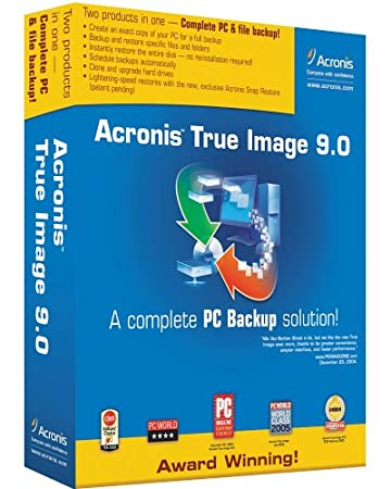 Acronis True Image Backup 9.0 [OLD VERSION]