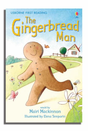 The Gingerbread Man: Level 3 (Usborne First Reading)