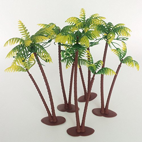 57Inch-Height-LOT-5-Coconut-Palm-Palms-Twin-Coconut-Tree-Trees-Aquarium-Terrariums-Miniature-Garden-Fairy-Gardens-Doll-House-Cake-Topper-Resin-Decoration