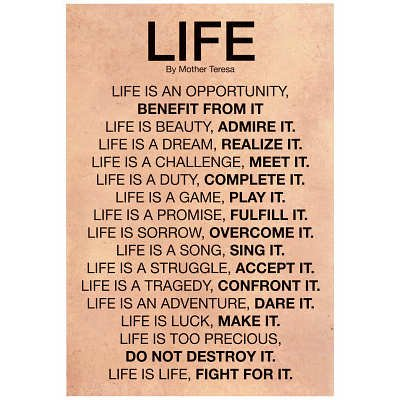 life is a challenge Get an answer for 'a life without challenge and risk is not worth living do you agree explaina life without challenge and risk is not worth living do you agree explain' and find homework help for other philosophy questions at enotes.