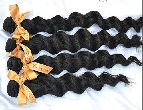 DaJun hair 5A Cambodian Virgin Human Hair Extension Wavy 3pcs/lot 300gram Natural Colour