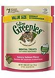 Feline Greenies Dental Treats Savory Salmon for Cats, 5.5-Ounce