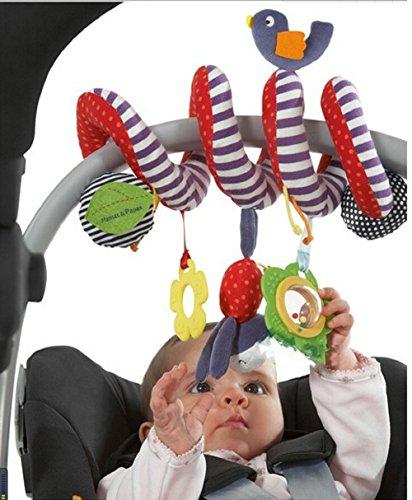 jysport Baby culla giocattolo-Cute Bird Wind Chimes Design Nuovo Infant Giocattoli di peluche-avvolgere intorno Culla giocattoli per 0-36mesi baby