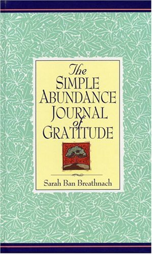 Simple Abundance Journal of Gratitude, Sarah Ban Breathnach