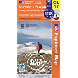 Snowdon (OS Explorer Map Active)by Ordnance Survey