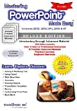 img - for Mastering MS PowerPoint Made Easy Training Tutorial v. 2003 through 97 - How to use Microsoft PowerPoint Video e Book Manual Guide. Even dummies can ... - Advanced material from Professor Joe book / textbook / text book
