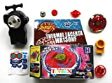 Toy - TOP SET RAPIDITY KAMPFKREISEL - THERMAL Lacerta - WA130HF - BALANCE - Links-Rechts Launcher-Starter + Metallspitze + Zubeh�r f�r Beyblade Metal Fusion Metal Masters Arena - HONGY - NEU & OVP