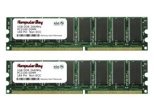 4GB DDR MEMORY RAM PC2700 ECC REG DIMM 184-PIN 2X2GB